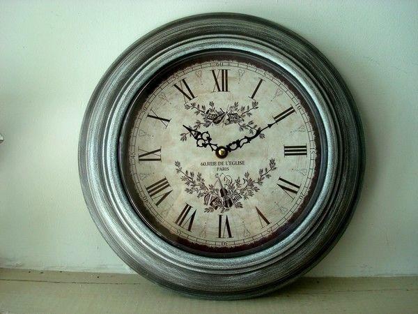 Horloge Ronde Quot Rue De L 233 Glise Quot Horloge Murale Parement