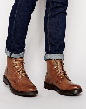 bd8b91cadf1 Base London Brunel Leather Boots