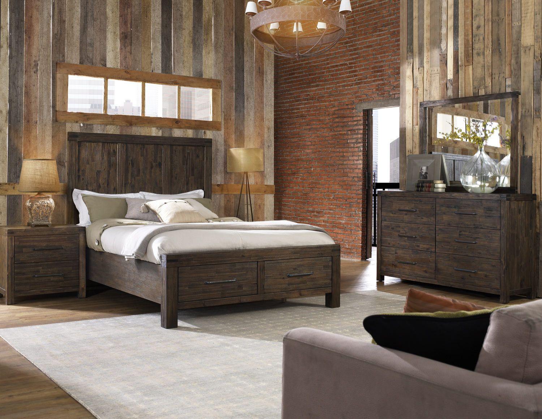 St Croix Storage Bedroom Suite Digging Dark Colors
