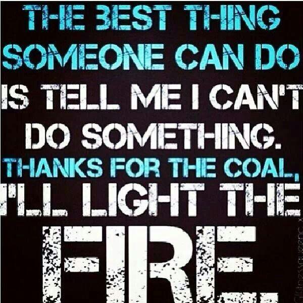 I'll light the fire