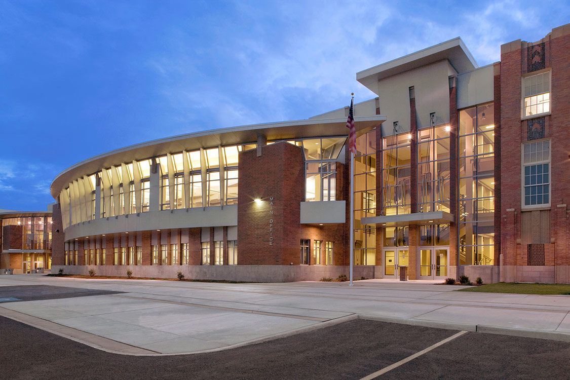 Rogers High School Spokane Public Schools Nac Architecture