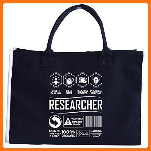 86d70ff4999e Multitasking Likes Beer Coffee Researcher Birthday Gift - Tote Bag - Top  handle bags ( Amazon Partner-Link)
