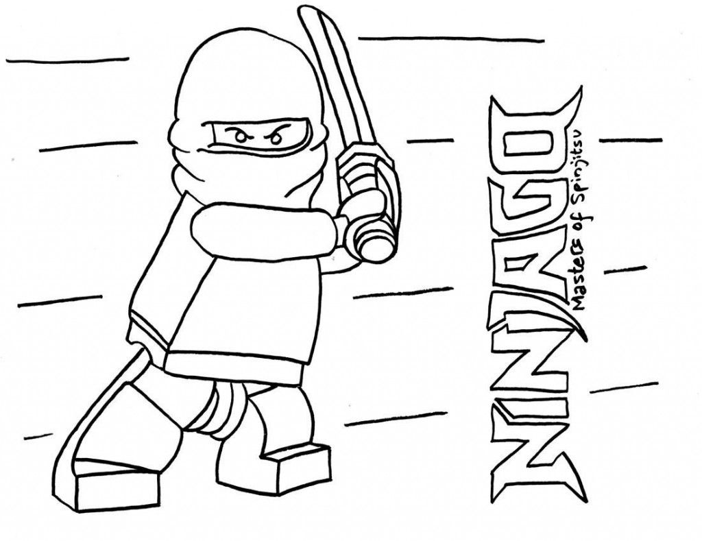 Free Printable Ninjago Coloring Pages For Kids  Ninjago coloring