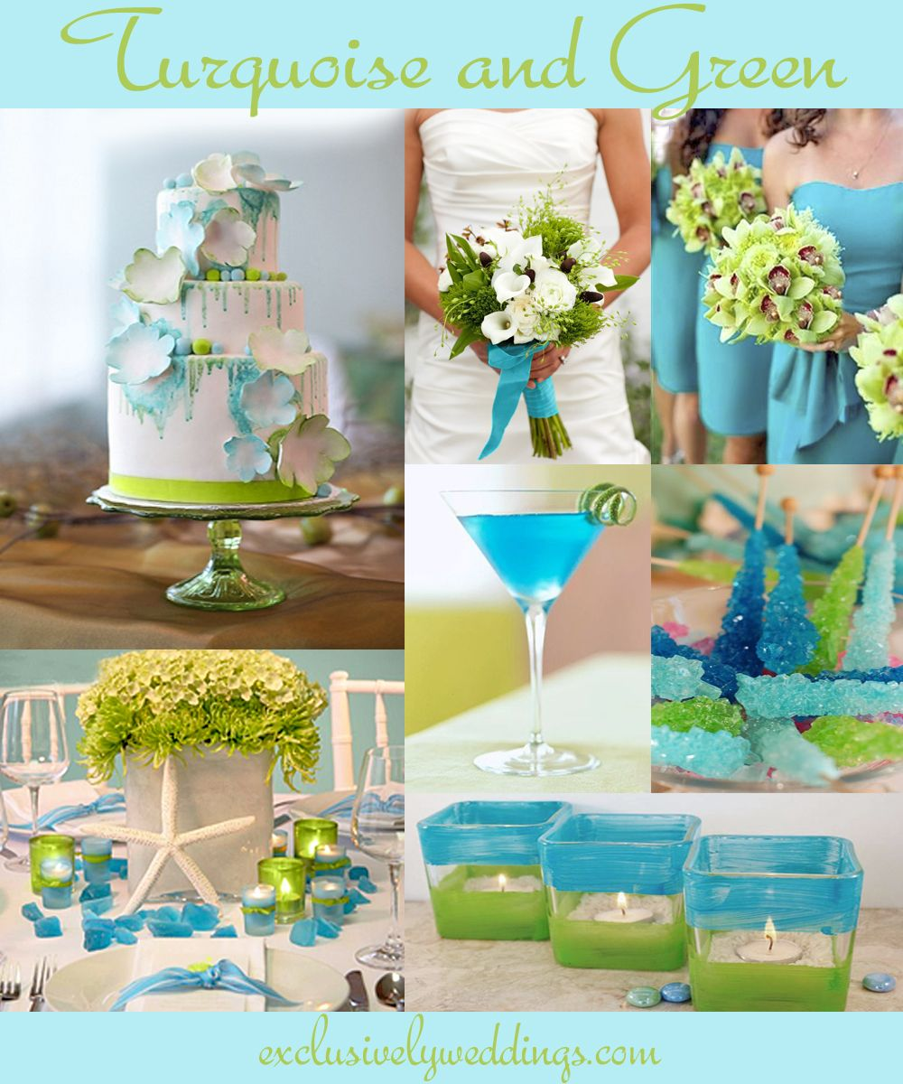 Perfect Color Combinations turquoise wedding color – seven perfect combinations | turquoise