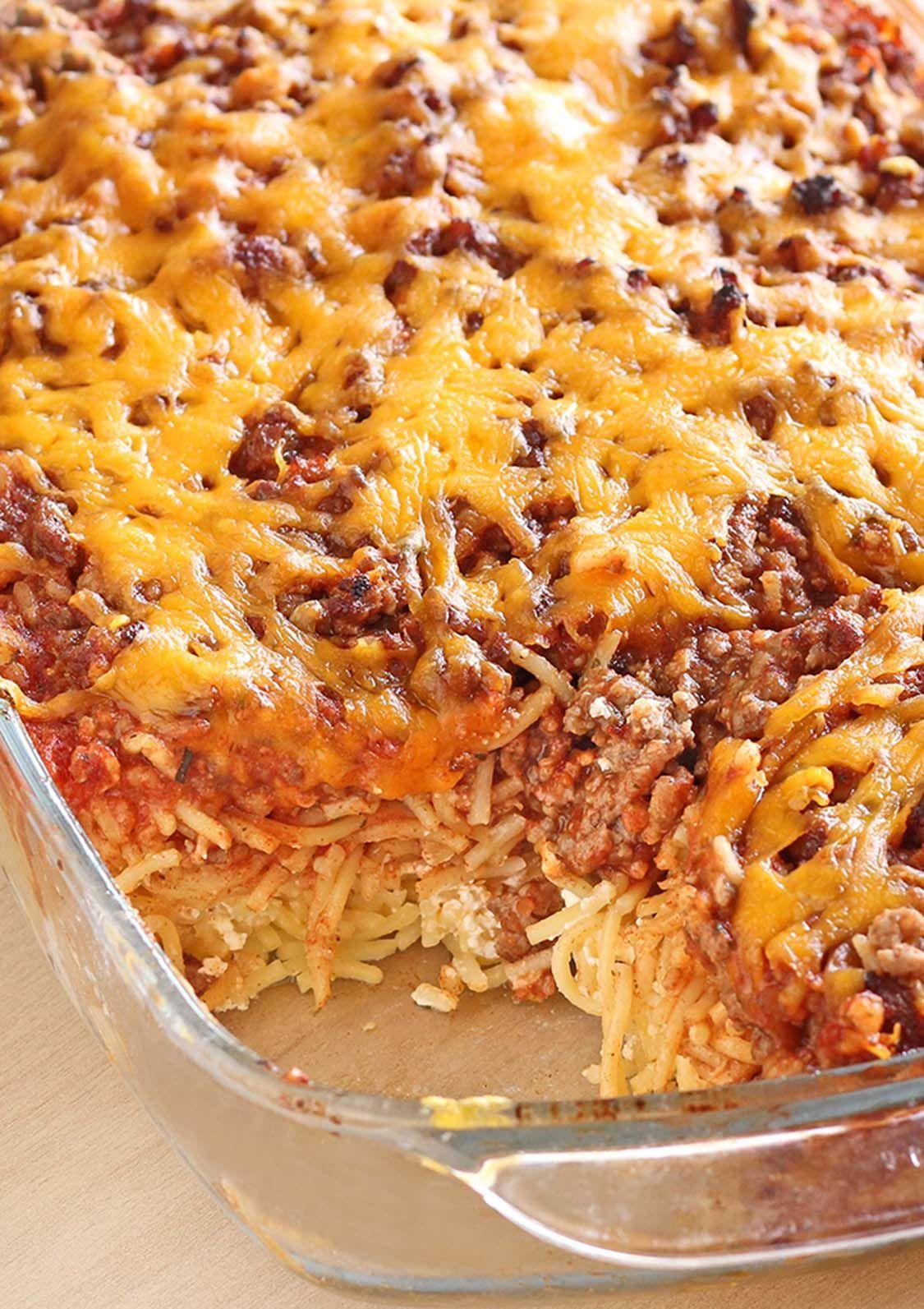 Million Dollar Spaghetti Sugar Apron Recipe Recipes Spaghetti Recipes Ground Beef Recipes