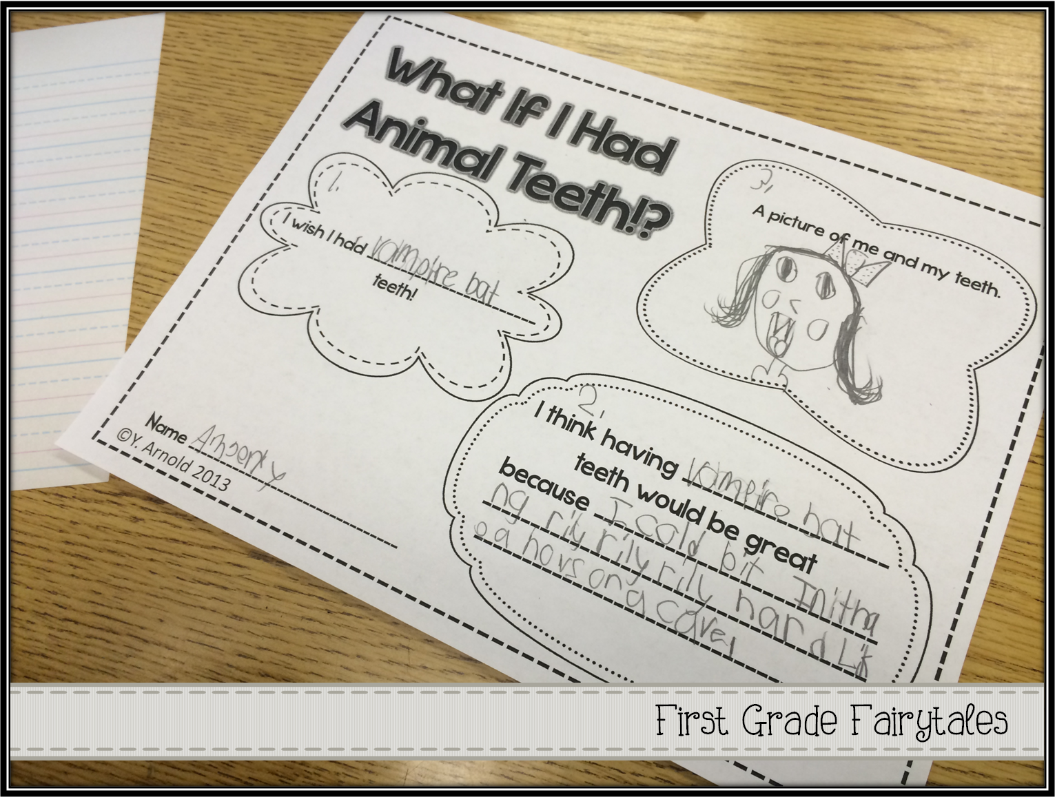 First grade life science worksheets what do animals eat 1 - First Grade Fairytales What If You Had Animal Teeth Hair