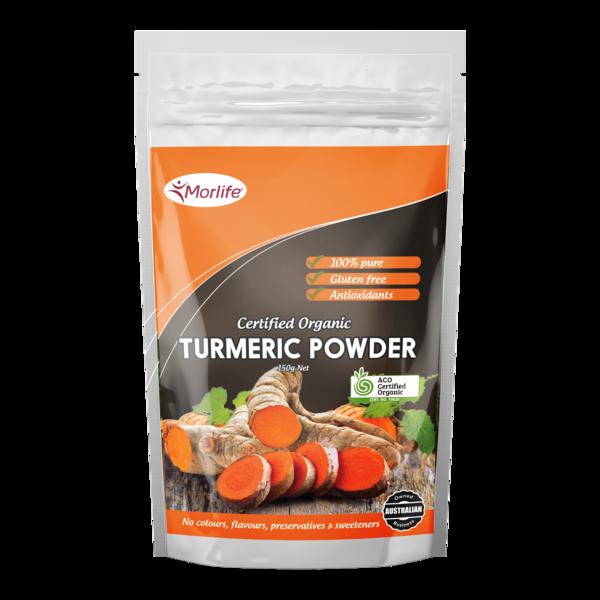 Turmeric Powder Certified Organic 150g Organic turmeric