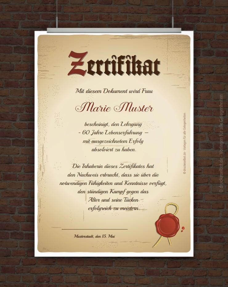 Drucke Selbst Kostenloses Zertifikat Zum Ausdrucken In 2020 Vorlage Urkunde Urkunden Zum Ausdrucken Zertifikat Vorlage
