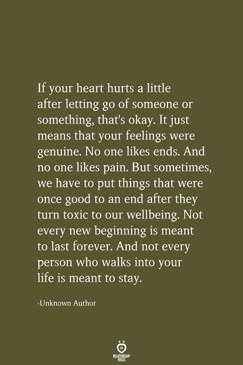 Photo of If Your Heart Hurts A Little After Letting Go Of Someone Or Something #wellness
