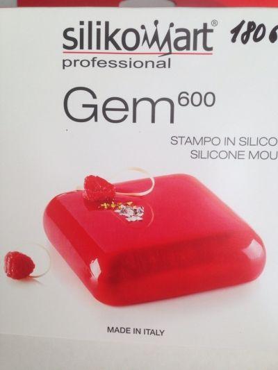 Форма силиконовая ГЕММА 600 Силикомарт 180600