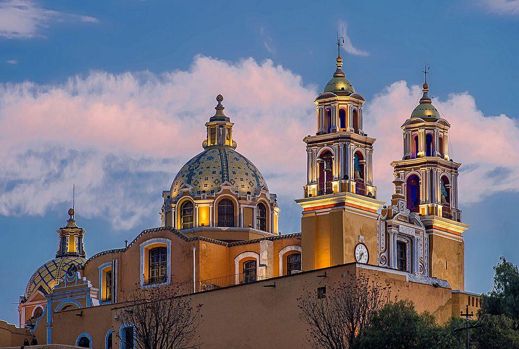 Magical Cholula, Church of Nuestra Señora de los Remedios, Puebla, Mexico. | Flickr - Photo Sharing!