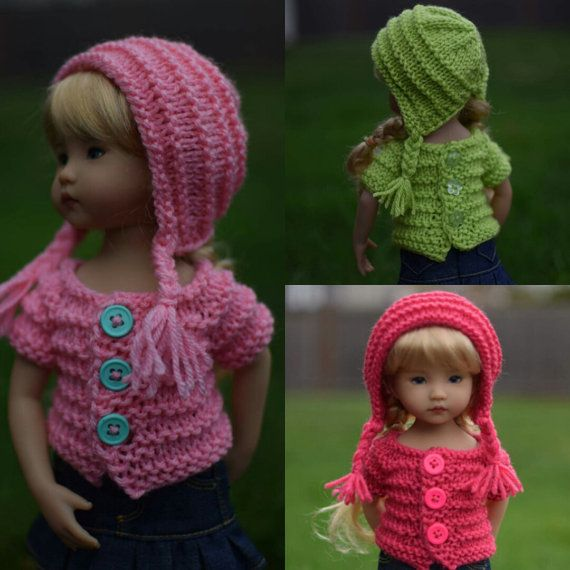 15. Sweater & Hat - PDF Knitting Pattern for Dianna Effner ...