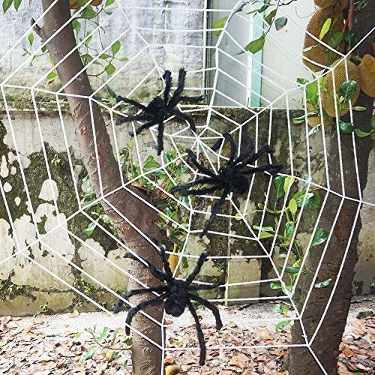 Cheap Large Halloween Decorations Large Cardboard Halloween Decorations Extra Large Ha Halloween Spider Web Fun Halloween Decor Halloween Outdoor Decorations