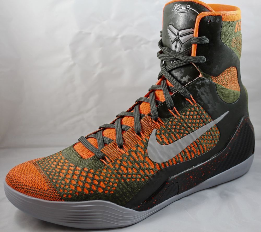 d7dcc760871 NIKE KOBE 9 IX Elite Strategy Mens Basketball Shoes 630847-303 Sz 10.5  Sequoia  Nike  BasketballShoes