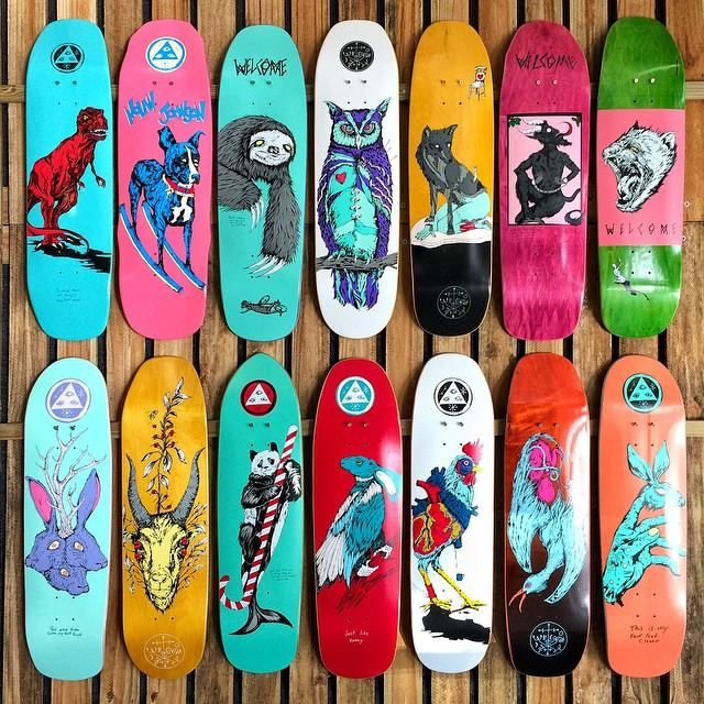 STORE PRODUCTS | Welcome Skateboards ○$99.99 | Skateboard
