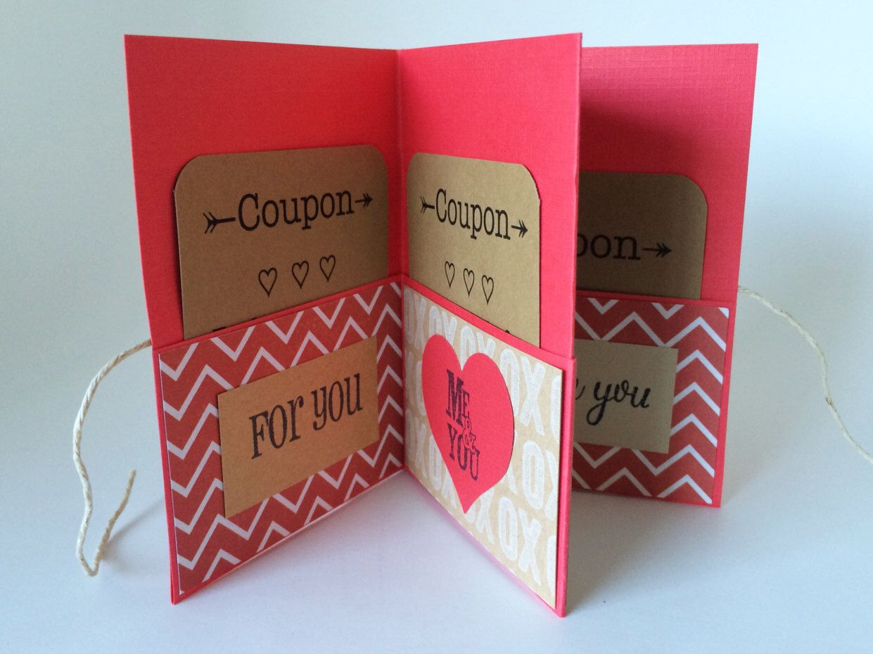 Coupon gifts for boyfriend