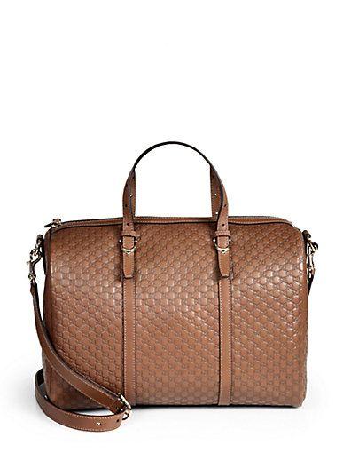 22a7265da7b Gucci Nice Microguccissima Leather Boston Bag