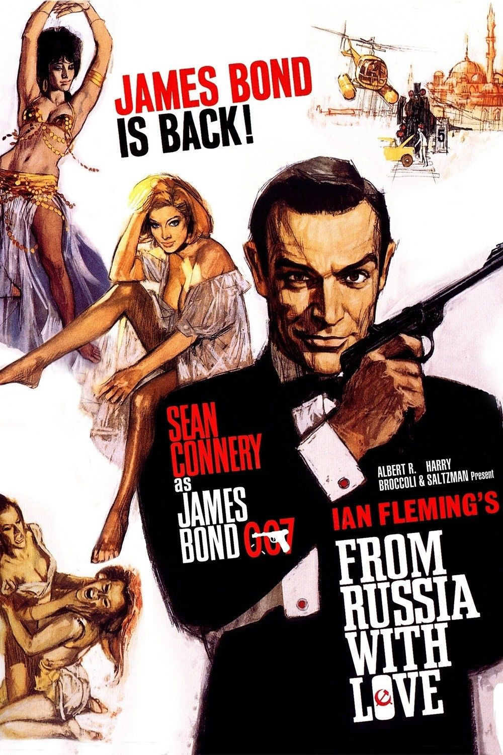 Moscou Contra 007 From Russia With Love 1963 Dir Terence Young