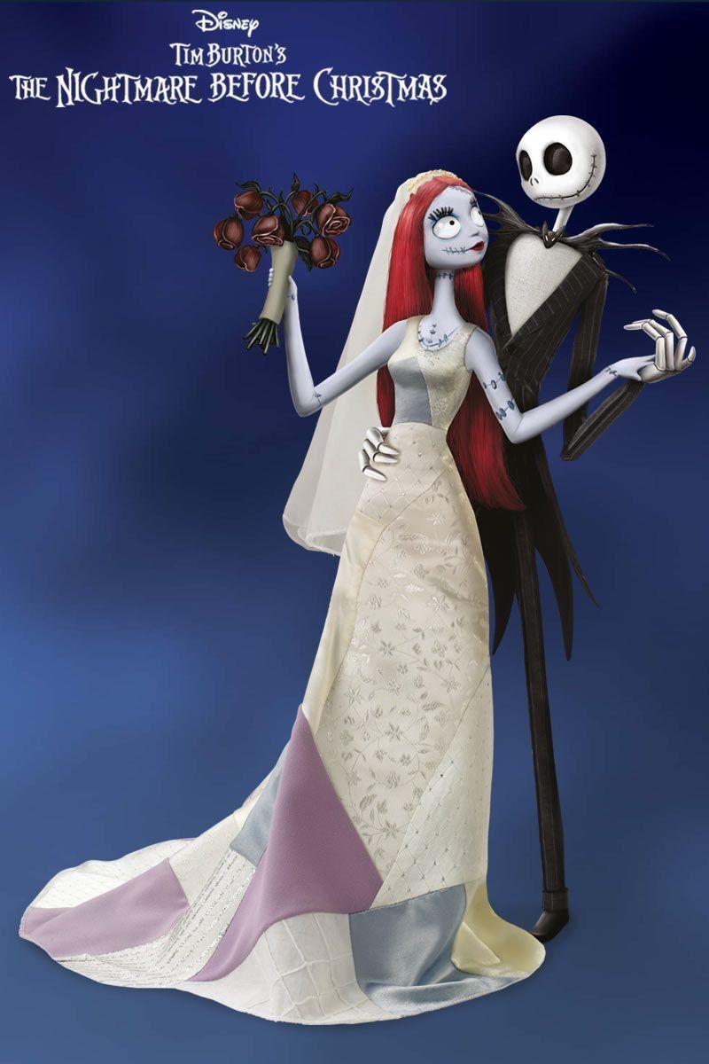 Jack and Sally Wedding Nightmare Before Christmas #ja ...