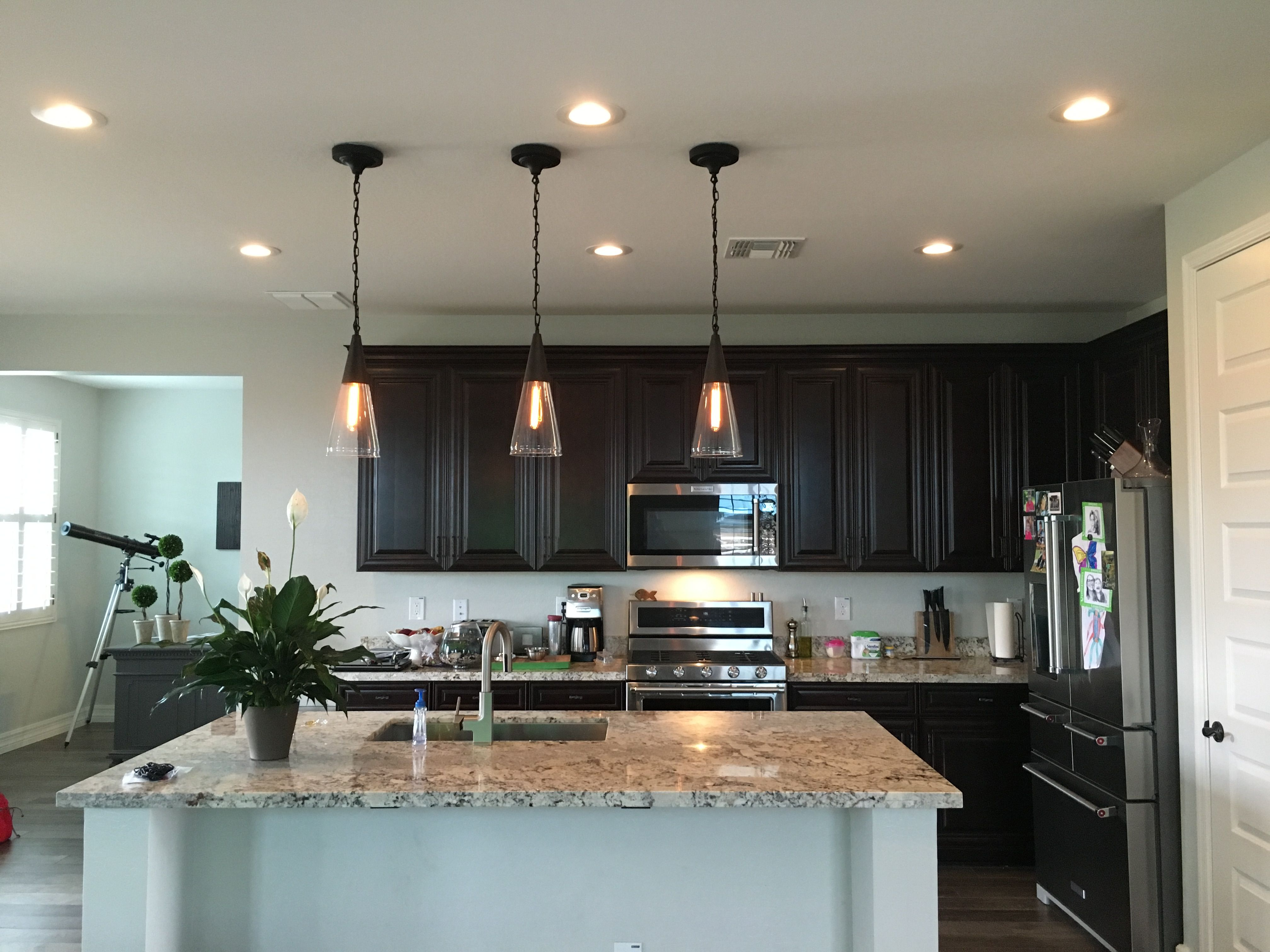 Az Recessed Lighting Installation Of Led Lights And Island
