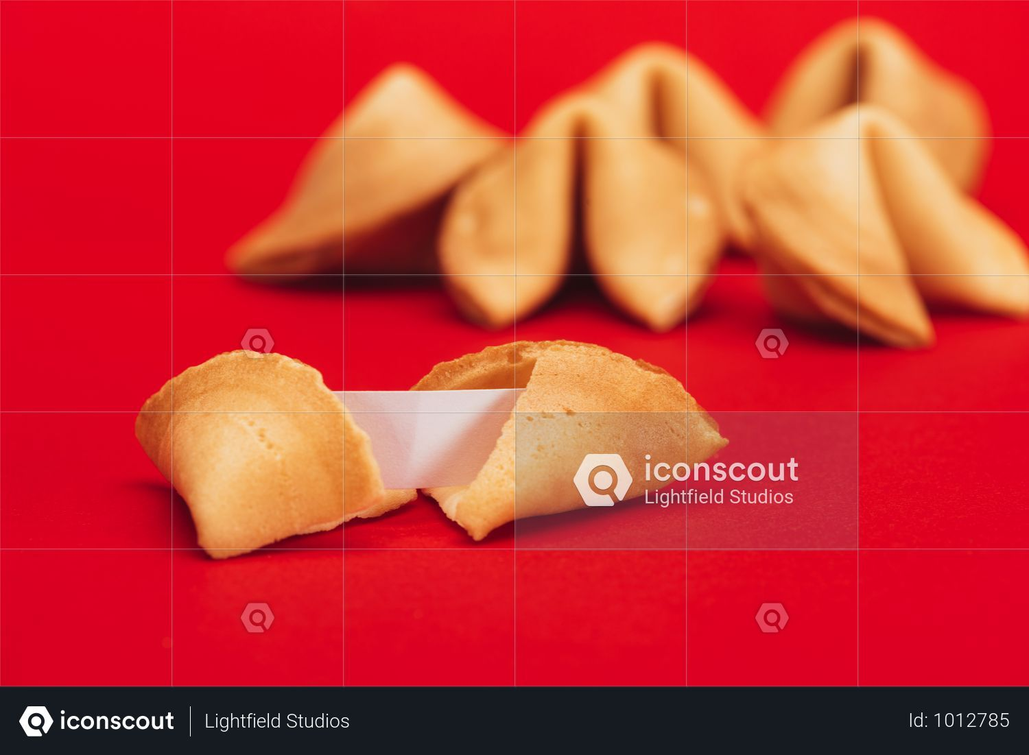 Premium Traditional Chinese Fortune Cookies On Red Surface Chinese New Year Concept Photo Download In Png Jpg Format Fortune Cookie Chinese Fortune Cookie Fortune Cookies Recipe