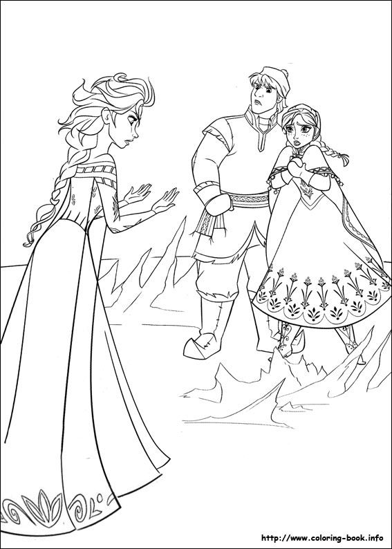 35 FREE Disneyu0027s Frozen Coloring Pages (Printable) / Free Printable Coloring  Pages For Kids   Coloring Books