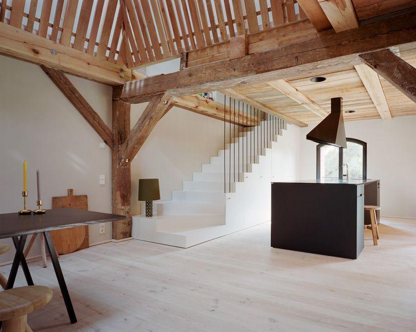 Thomas Kroger Architekt Landhaus Gut Fergitz Uckermark Living
