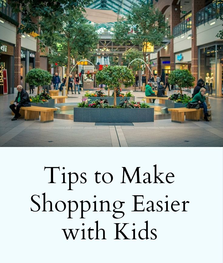 Tips for Shopping with Kids - pinterest