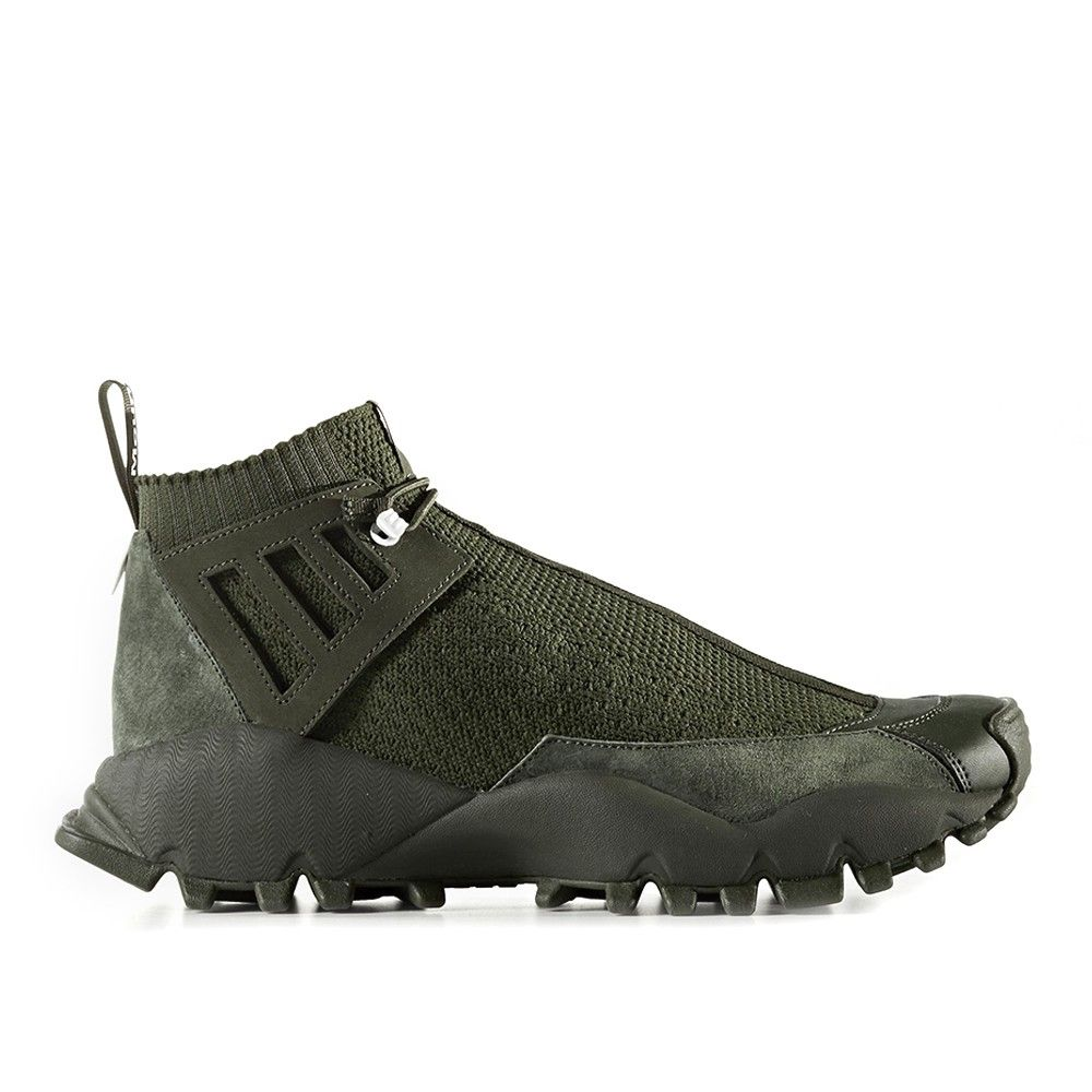 60ab107d9474 adidas Originals by White Mountaineering Seeulater Alledo Primeknit (olive    olive) - Free Shipping starts at 75€ - thegoodwillout.com  200.00