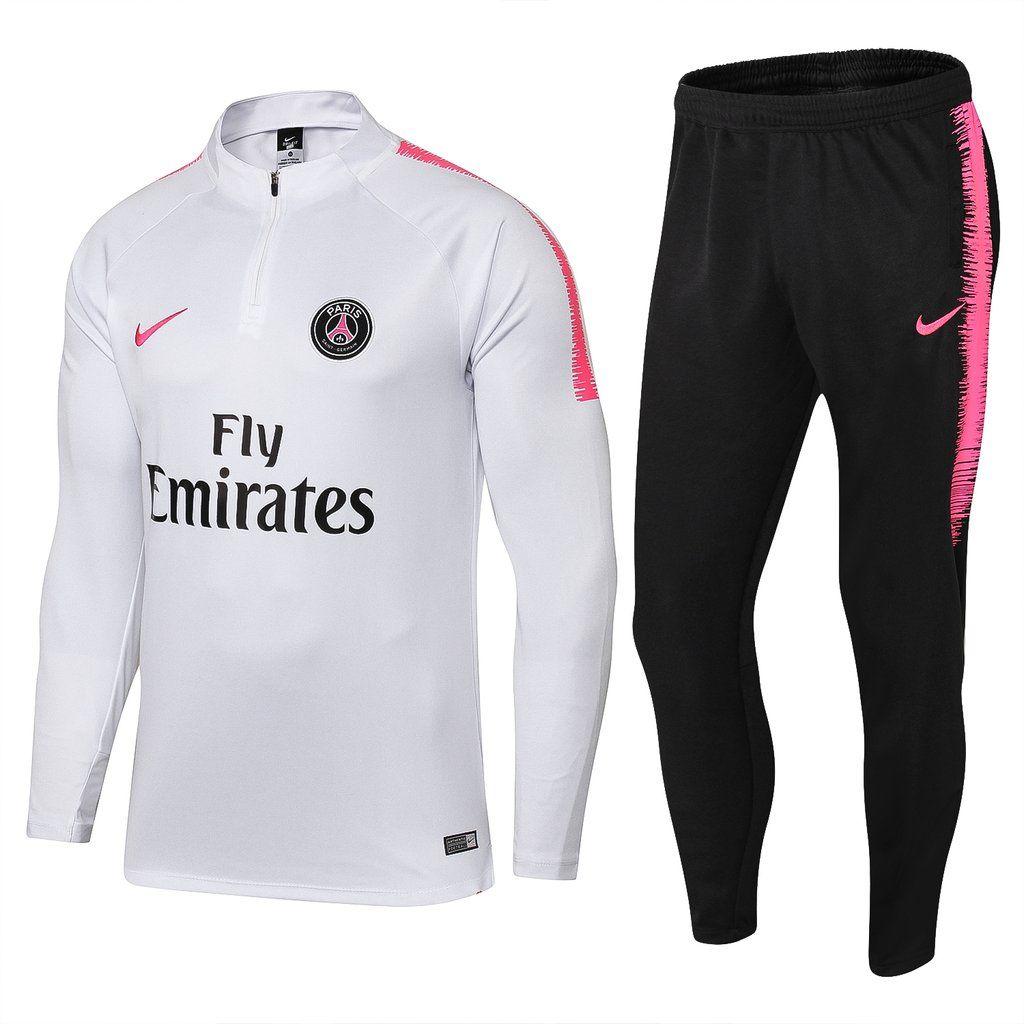 93e19f4f20 Paris Saint-Germain F.C PSG Nike 2018 - 19 Training Tracksuit FÚTBOL CALCIO  Soccer CLUB FOOTBALL FUSSBALL BNWT