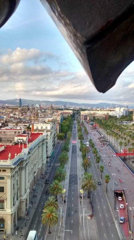 Paseo de Colón, Barcelona