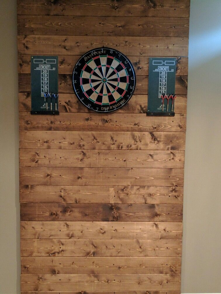 dart board wall protection