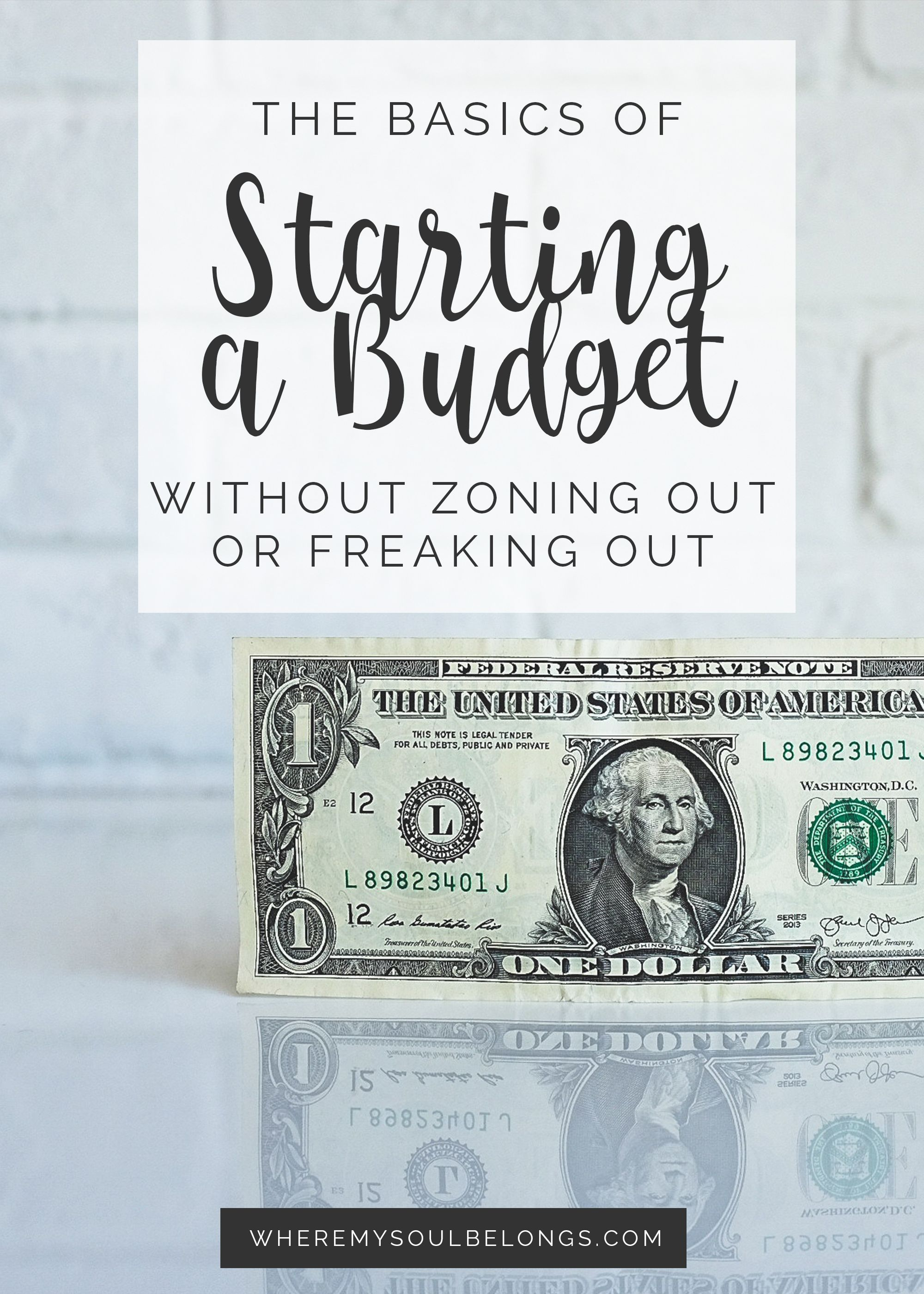 The Basics Of Starting A Budget With Images