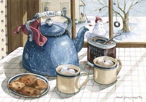 теплыми бывают не только чай