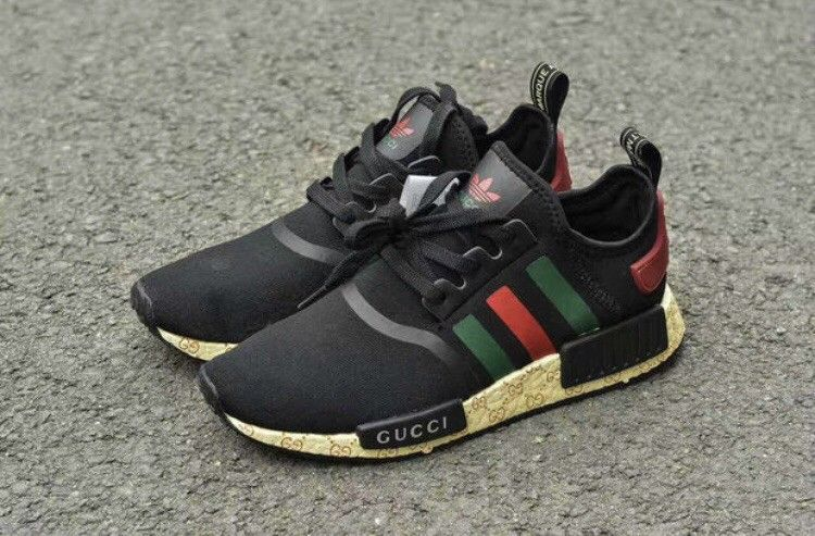sale retailer 901da 60af6 Adidas-Custom-Black-Gucci-NMD NEW IN BOX I have Men Sizes 5-10.5 fashion  clothing shoes accessories mensshoes athleticshoes
