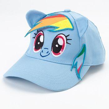 bc89143420b MLP My Little Pony Baseball Cap Hat Girls Personalized