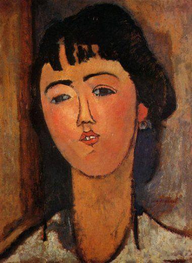 Ritratto di una donna di Amedeo Modigliani
