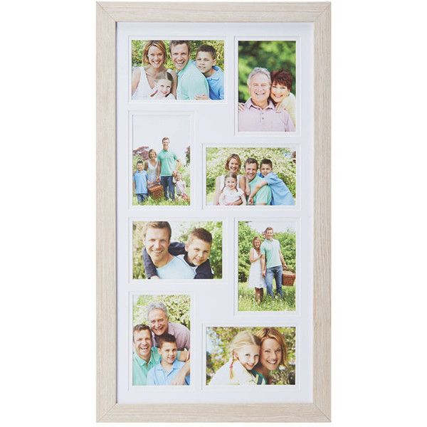 Lifetime Brands Natural Vertical Eight-Photo Collage Frame (19 CAD ...
