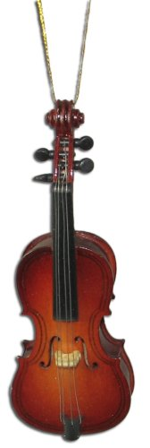 Miniature Cello Christmas Ornament 4