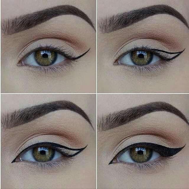 Maquillaje ojos felinos en wwwrincondebellezacom maquillaje