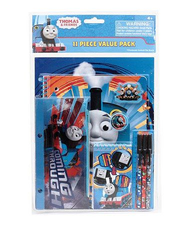 Love this Thomas & Friends 11-Piece Stationery Set on #zulily! #zulilyfinds