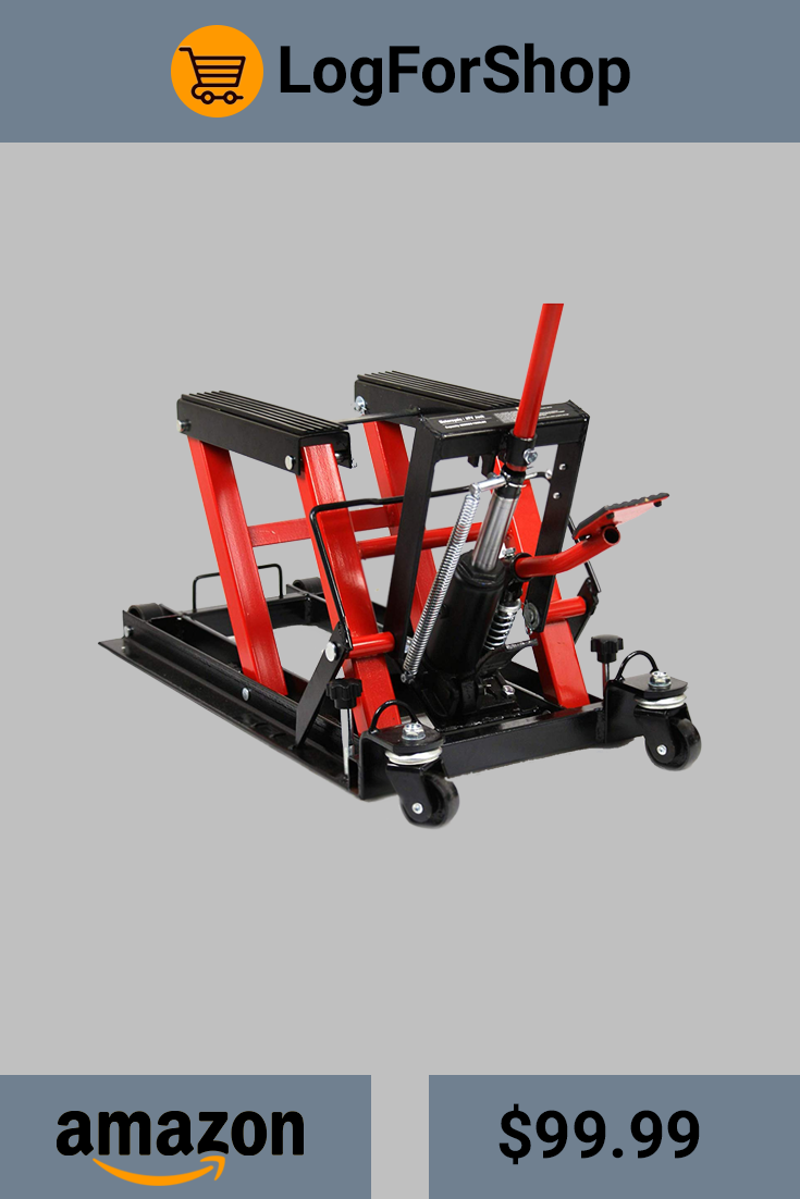 Amazing The Red Black Motorcycle Smarxtchoices Atv Jack 1500 Lbs Is Home Interior And Landscaping Ymoonbapapsignezvosmurscom