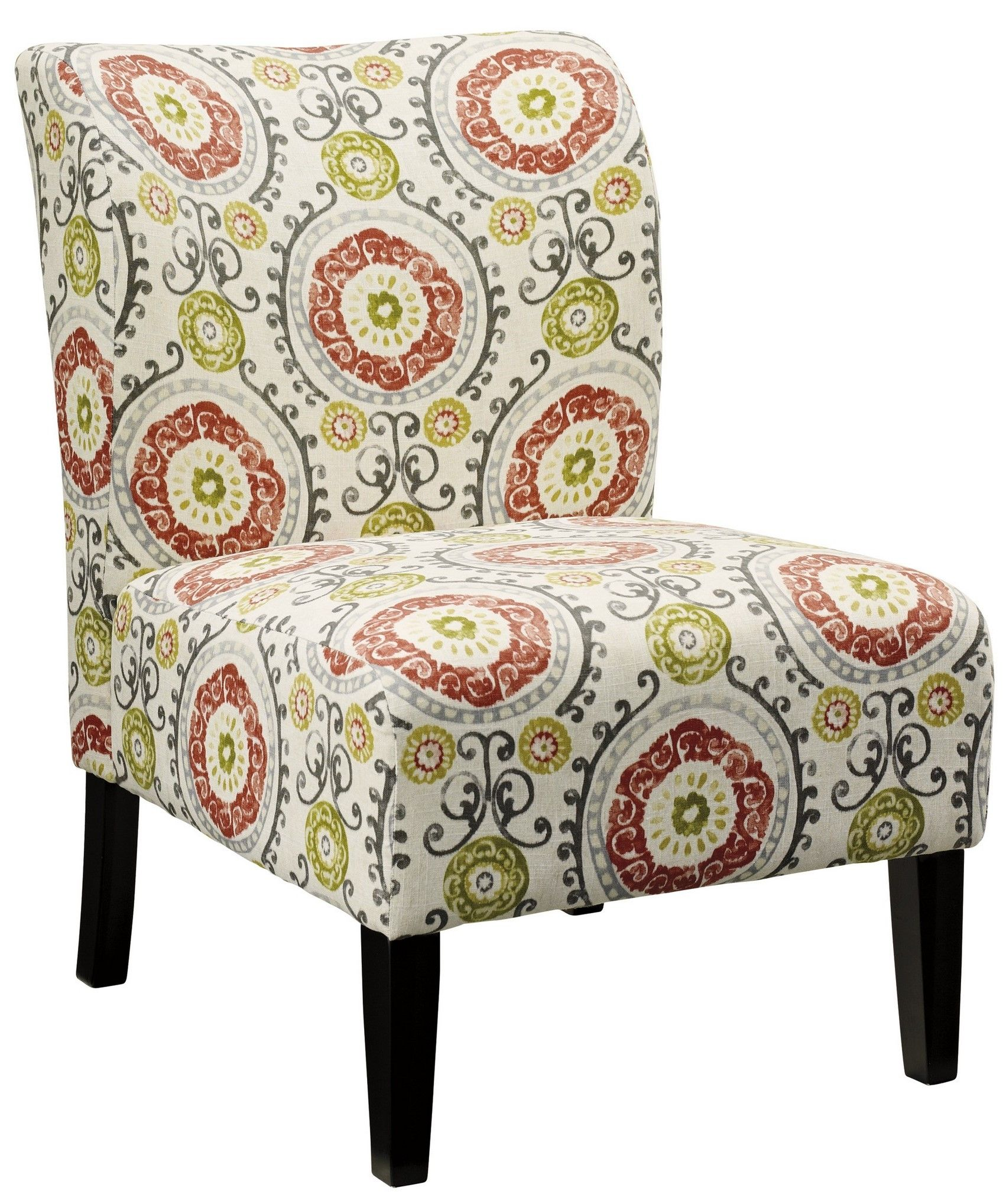 Signature Design By Ashley Honnally Floral Accent Chair Reviews