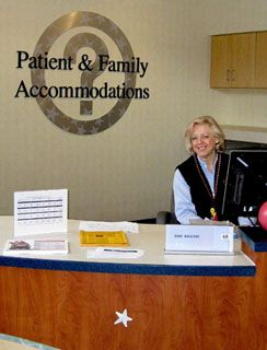 Patient & Family Accommodations Service Desk: Many hotels in