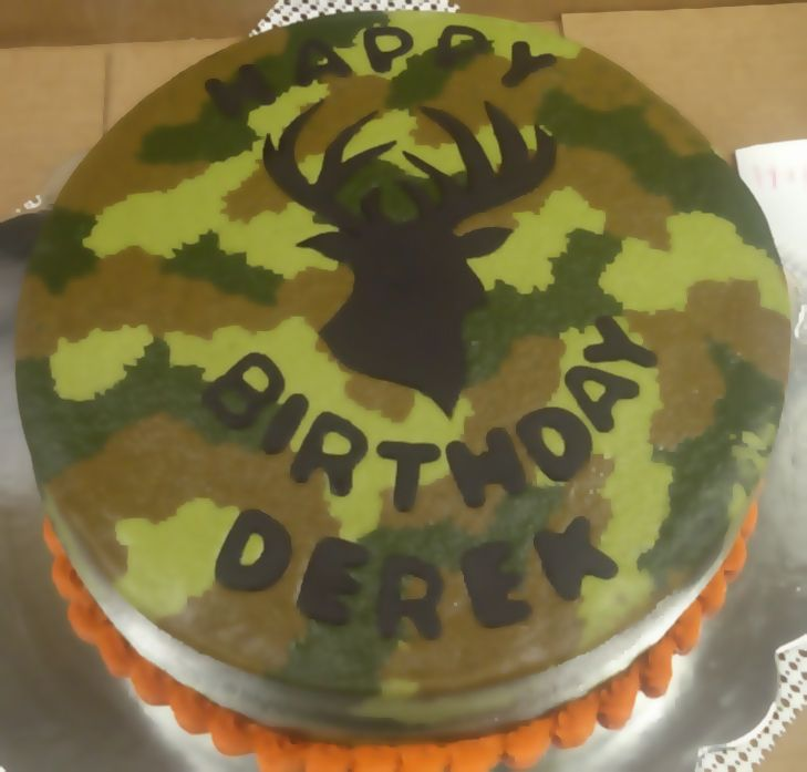 Camouflage Birthday Cake Before I Forget Things Ive Made