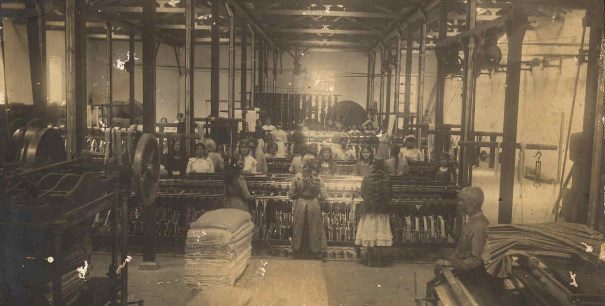 Industria textil historia