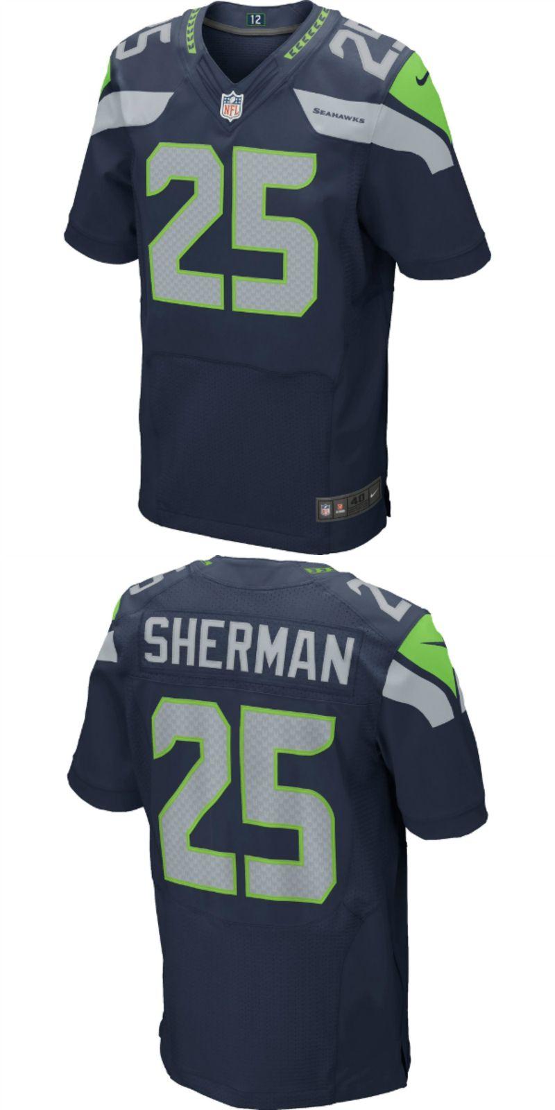 best service 650ec fe011 Richard Sherman Seattle Seahawks Football Jersey | NFL ...