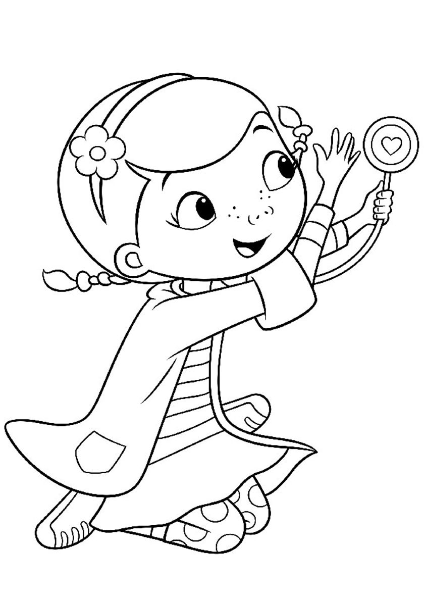 Favorite Stethoscope High Quality Free Coloring From The Category Doc Mcstuffins More Printable P Cartoon Coloring Pages Coloring Pages Free Coloring Pages