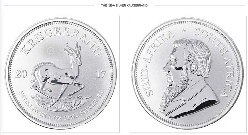 Silver Krugerrand New Silver Investment Attraction Renews Silver Krugerrand Gold Krugerrand Silver Bullion