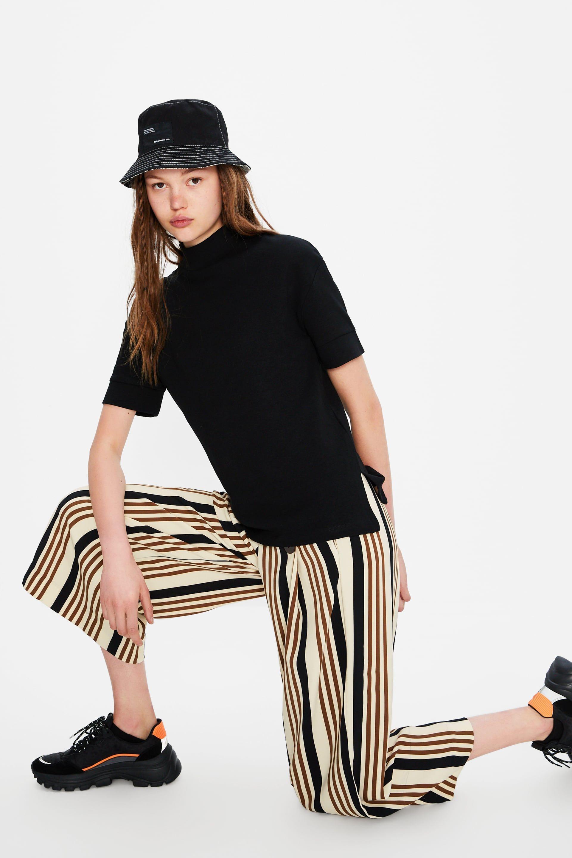 Pantalon Cropped Ver Todo Pantalones Mujer Zara Chile Pantalones Cropped Pantalones Mujer Pantalones